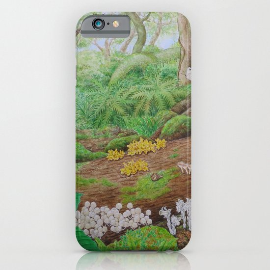 A Day of Forest (5). (dead wood ecosystem) iPhone & iPod Case