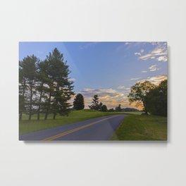 Sunrise Ahead Metal Print