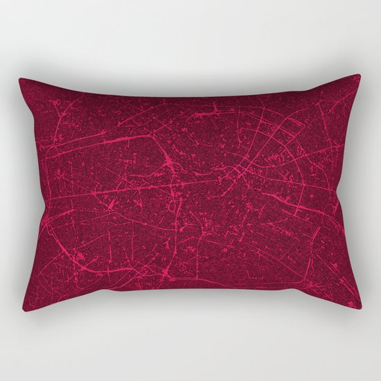 BERLIN GERMANY MAP Rectangular Pillow