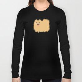 Cute Pomeranian | Fluffy Cartoon Pom Long Sleeve T-shirt