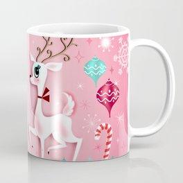 Cute Christmas Reindeer Coffee Mug