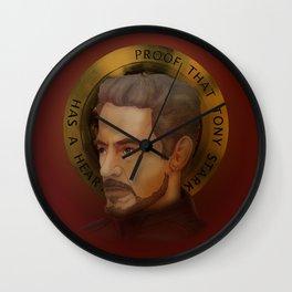 Saint Stark Wall Clock