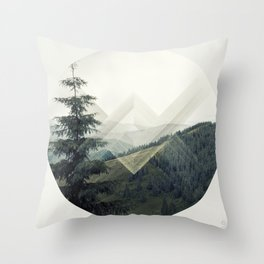 Xross Country Throw Pillow