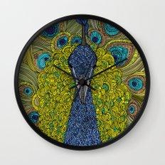 Mr. Pavo Real Wall Clock
