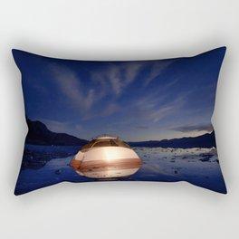 Salt Flat Camping Under the Stars Rectangular Pillow