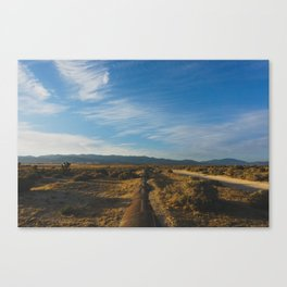Los Angeles Aqueduct - Pacific Crest Trail, California Canvas Print
