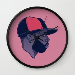 Dead Hip Hop Icon Series: James Dewitt Yancey Wall Clock