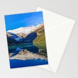 Lake Louise panorama, Canada. Stationery Cards