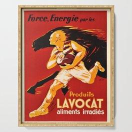 Advertisement force energie par les produits Serving Tray