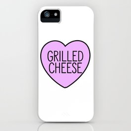 Love Grilled Cheese iPhone Case