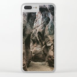 Wandering in the Gulch Clear iPhone Case