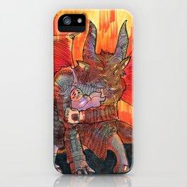 baal goetia demon iPhone Case