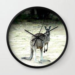 Big Grey Wall Clock