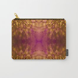 Gold Starburst Shimmer Carry-All Pouch