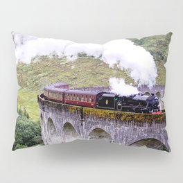 Jacobite Train Pillow Sham