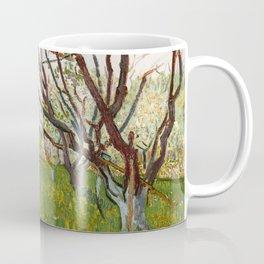 Flowering Orchard by Vincent van Gogh Coffee Mug