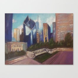 Chicago Diamond Canvas Print