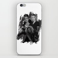 jessica lange iPhone & iPod Skins featuring The Witches - Susan Sarandon, Jessica Lange and Meryl Streep by BeeJL