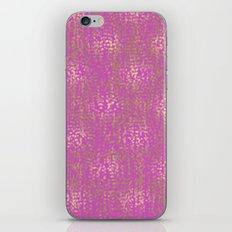 Pink Gold Glam Confetti iPhone & iPod Skin