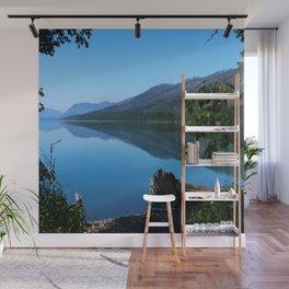 Lake McDonald Impression Wall Mural