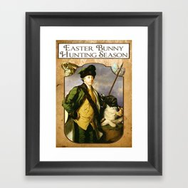 Easter Hunt Framed Art Print