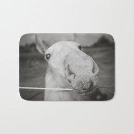 White Stallion Bath Mat