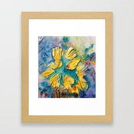 Color Vase Framed Art Print