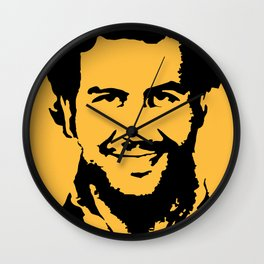 Pablo Escobar Wall Clock