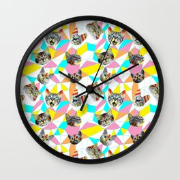 Army Of Cats Wall Clock