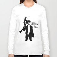 darren criss Long Sleeve T-shirts featuring Darren Criss with guitar! by byebyesally