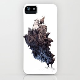 Did you see the Wolf? iPhone Case