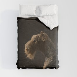 Airedale Terrier dog Comforters