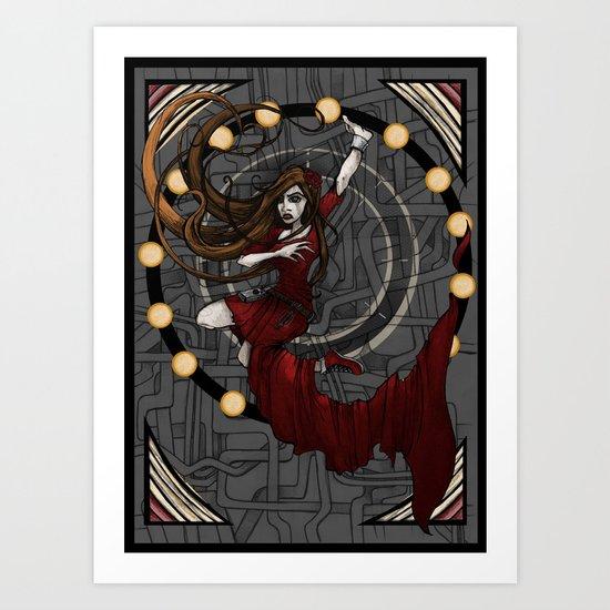 The Human Inside Art Print