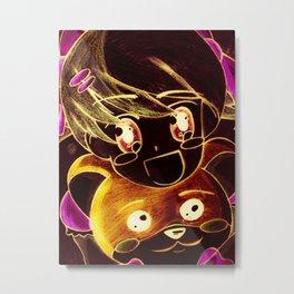 Dynamic Duo Metal Print