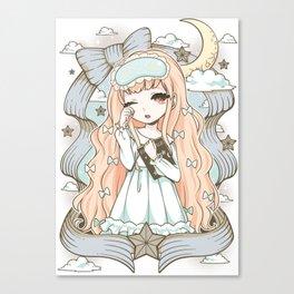 Good Night World Canvas Print