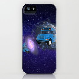 The good old days where the school went on a trip iPhone Case