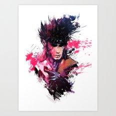 Gambit Art Print