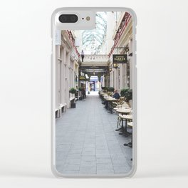 All about cheese Clear iPhone Case