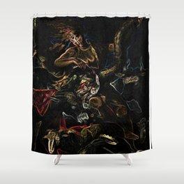 La Fortuna 2020 - Portrait - Jéanpaul Ferro Shower Curtain