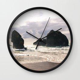 Pacific Coastline Wall Clock