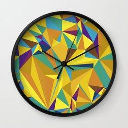 COLOUR MAZE 2 Wall Clock