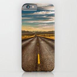 Road trip to Big Bend iPhone Case