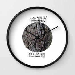 Tree [d]tales Wall Clock