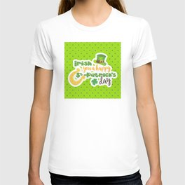 """Irish You"" a Happy St. Patrick's Day T-shirt"