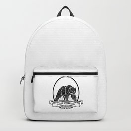 Glacier National Park Emblem Backpack