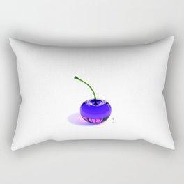 Purple Cherry - By THE-LEMON-WATCH Rectangular Pillow