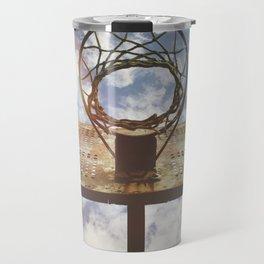 Hoosier Basketball Travel Mug