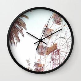 Let's Play Big Wheel Wall Clock