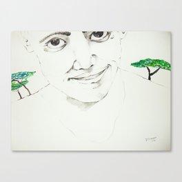 feliz Canvas Print