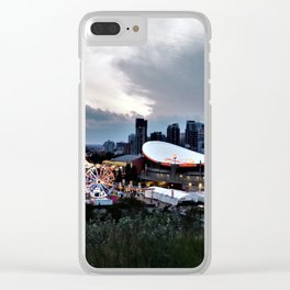 The City Of Calgary Clear iPhone Case